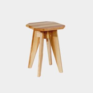 Wooden Taburete